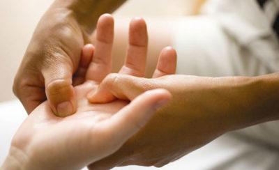массаж для рук