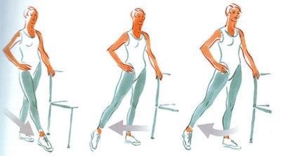 упражнения для восстановления голени