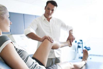 реабилитация для ноги