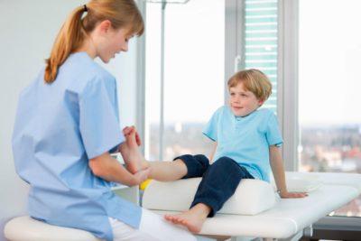 прием у детского врача