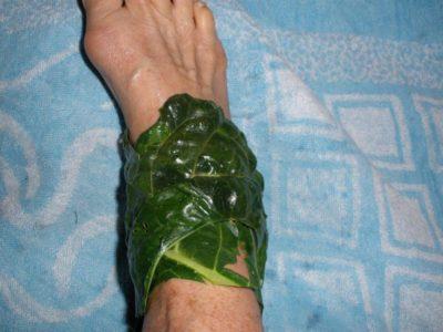 компресс для снятия боли
