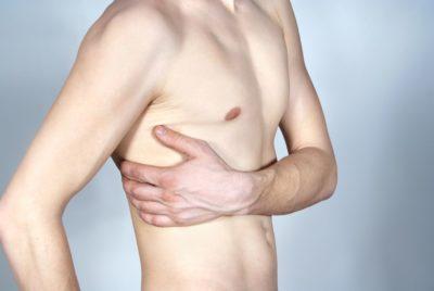 ушиб грудного отдела