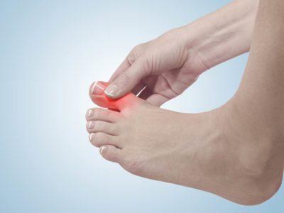 Травма пальца нижней конечности