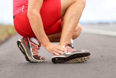 травма во время бега