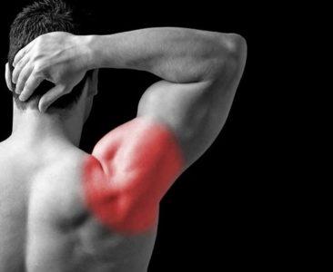 ушиб плечевого сустава