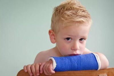Перелом у ребенка