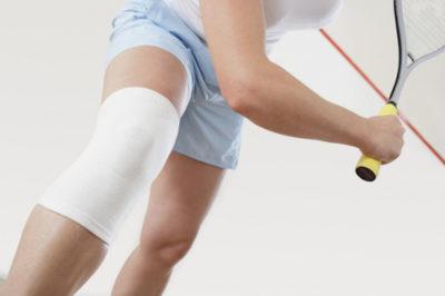 бондаж на колене