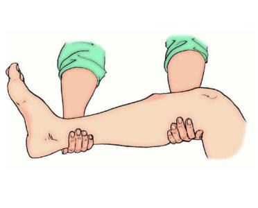 помощь при травме голени