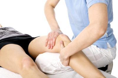 лечебный массаж травмированных связок