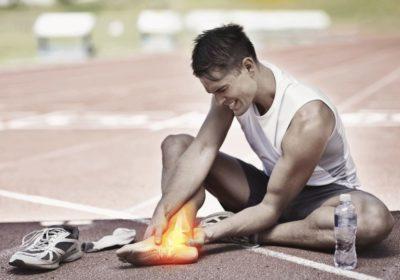 травма связок на пробежке