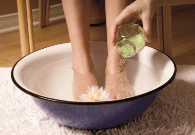 ванночки с солью