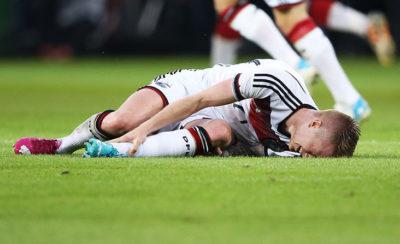 травма стопы у футболиста