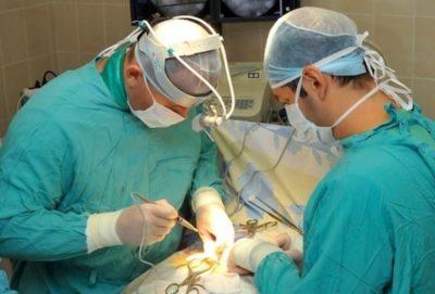 операция при осложнениях