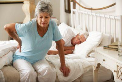 бессонница от боли в спине