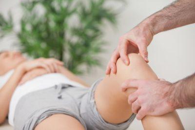 профилактический массаж колена