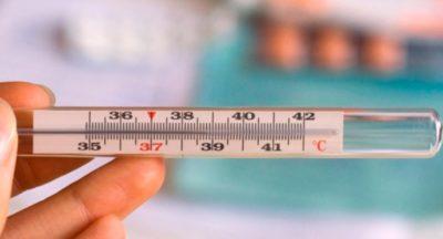 Высокая температура более 38