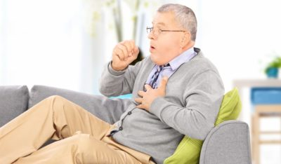 одышка и кашель у пожилого человека