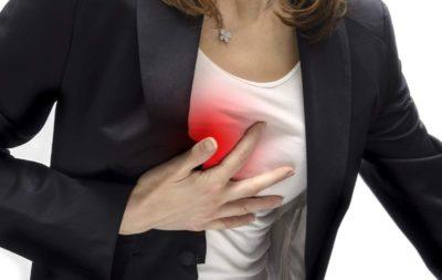 боль в области грудной клетки