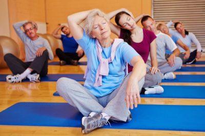 упражнения для шеи пожилым людям
