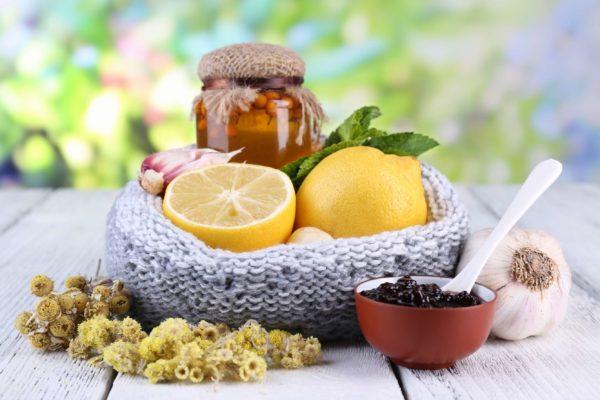 лимоны и травы