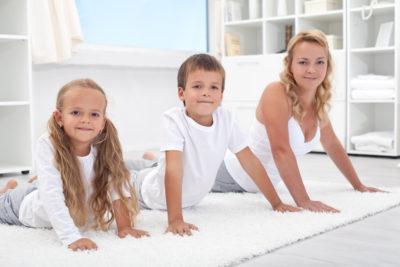 гимнастика всей семьей
