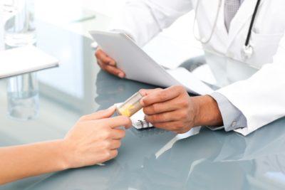 врач выписал препараты