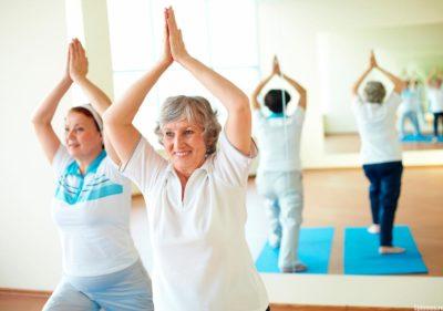 гимнастика для пожилых женщин