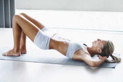 Базовые упражнения при болях в копчике