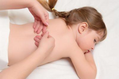 массаж маленькой девочки