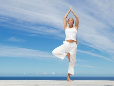 Йога для шейного отдела