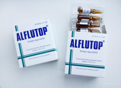 упаковки Алфлутоп