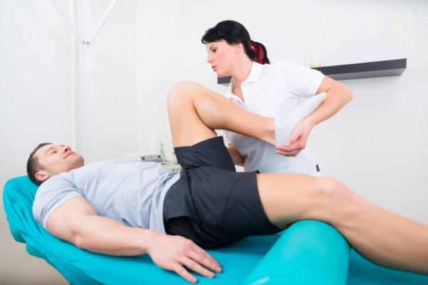 лечебная физкультура с врачом