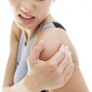 Противопоказания: боль в плечевом суставе