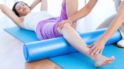 упражнения на спине