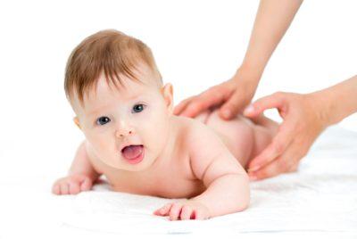 малыш массаж