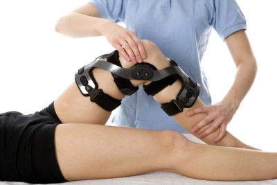 Послеоперационный массаж коленного сустава