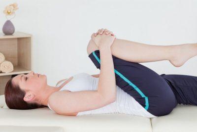 нагрузки для колена