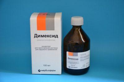 флакон препарата димексид