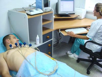 прохождение кардиограммы
