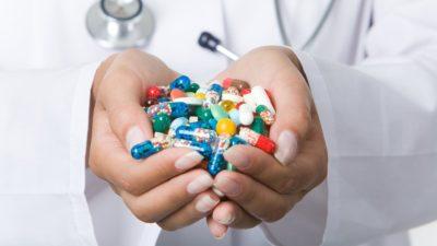 большой выбор препаратов