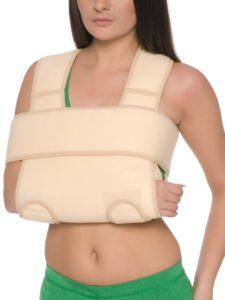 готовая повязка на плече